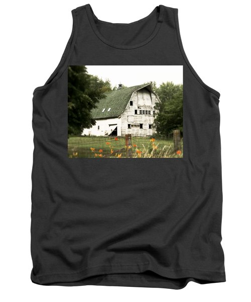Country Lilies Tank Top