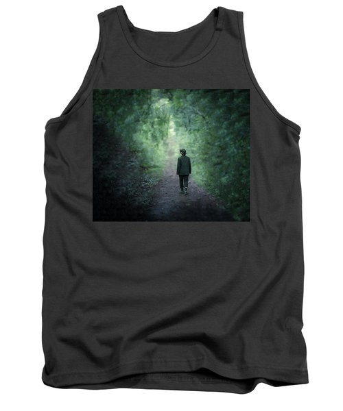 Country Path Tank Top