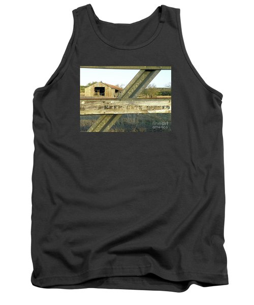 Tank Top featuring the photograph Country Quiet by Joe Jake Pratt