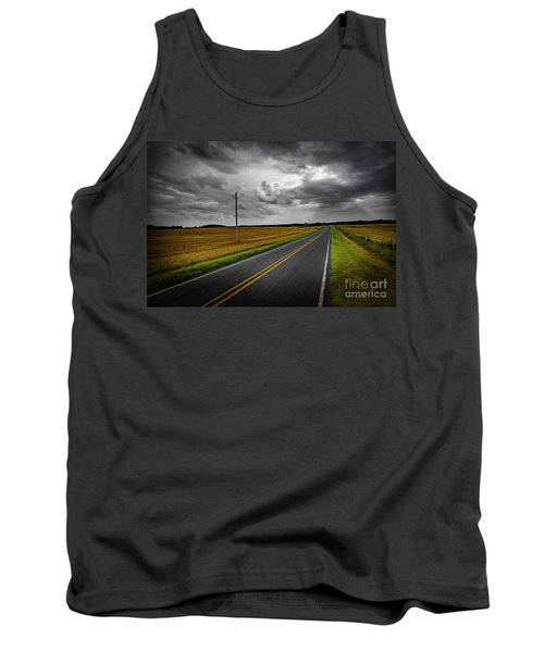 Country Road Tank Top by Brian Jones
