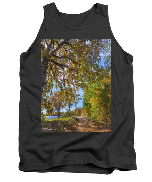 Country Road Tank Top by Tim Fitzharris