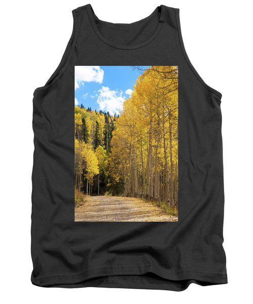 Tank Top featuring the photograph Country Roads by David Chandler