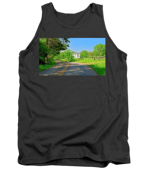 Country Roads Of America, Smith Mountain Lake, Va. Tank Top