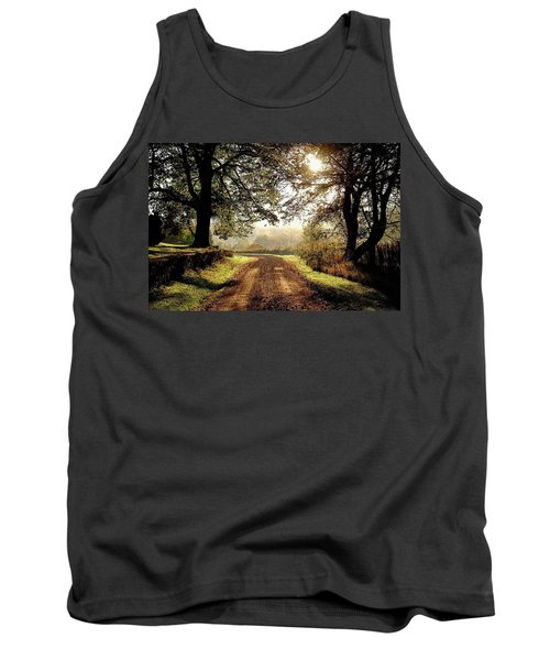 Country Roads Tank Top by Ronda Ryan