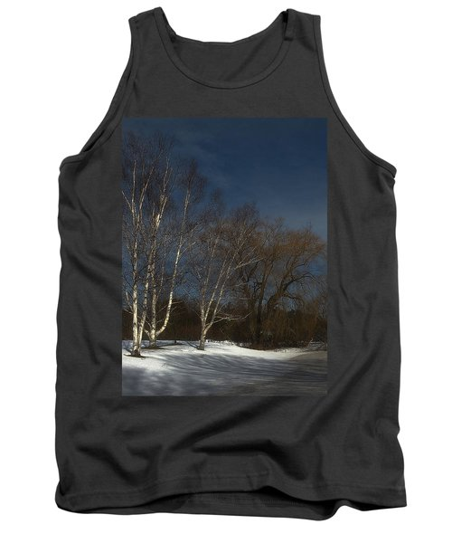 Country Roadside Birch Tank Top