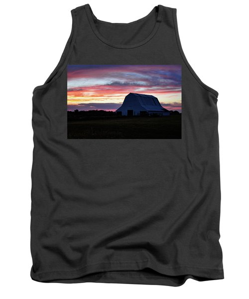 Tank Top featuring the photograph Country Sunset by Cricket Hackmann