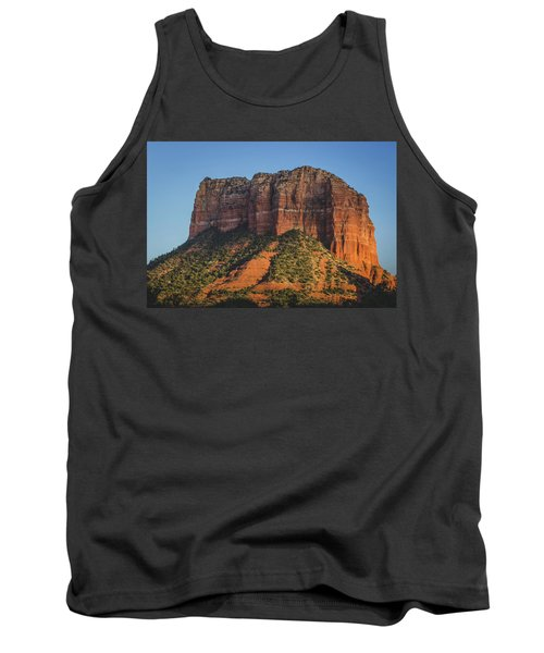 Courthouse Butte At Sunset Tank Top