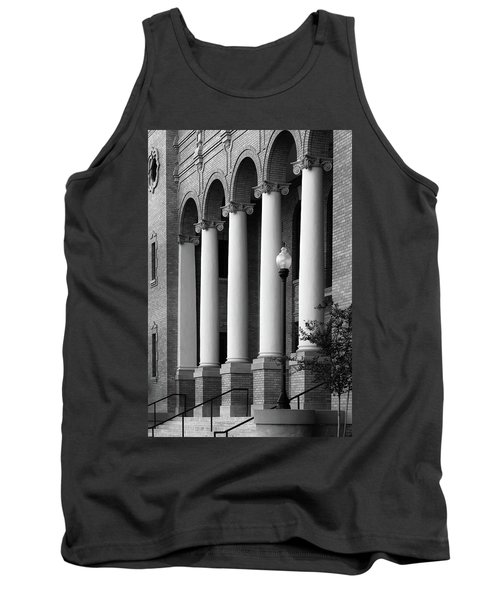 Courthouse Columns Tank Top by Richard Rizzo