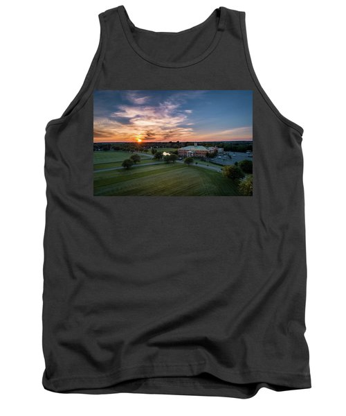 Courthouse Sunset Tank Top