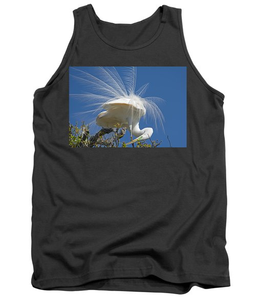 Courting Display Tank Top by Kenneth Albin