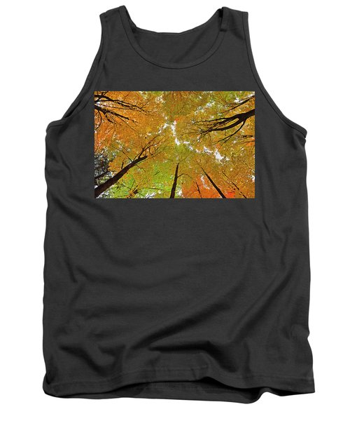 Tank Top featuring the photograph Cover Up by Tony Beck