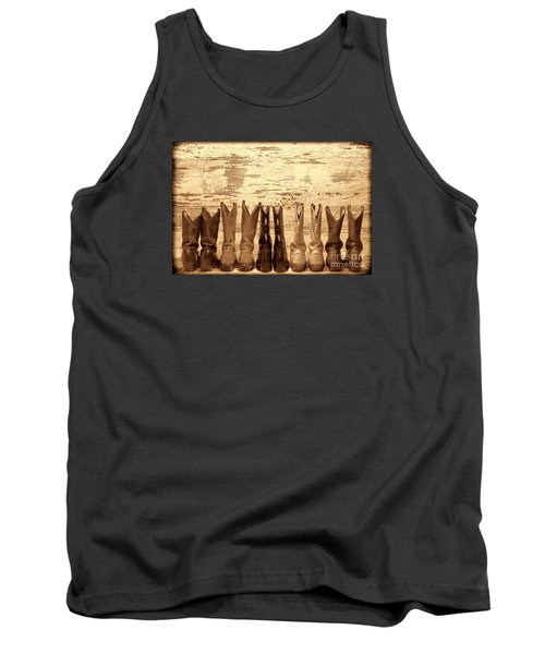 Cowgirls Night Out Tank Top by American West Legend By Olivier Le Queinec