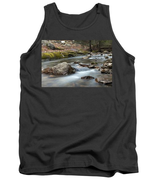 Tank Top featuring the photograph Coxing Kill In February #2 by Jeff Severson