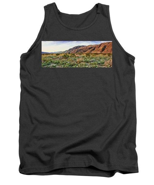 Coyote Canyon Sweet Light Tank Top by Daniel Hebard
