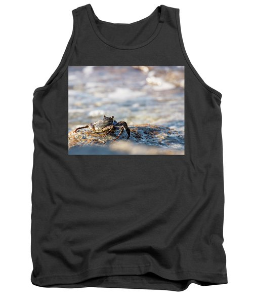 Crab Looking For Food Tank Top