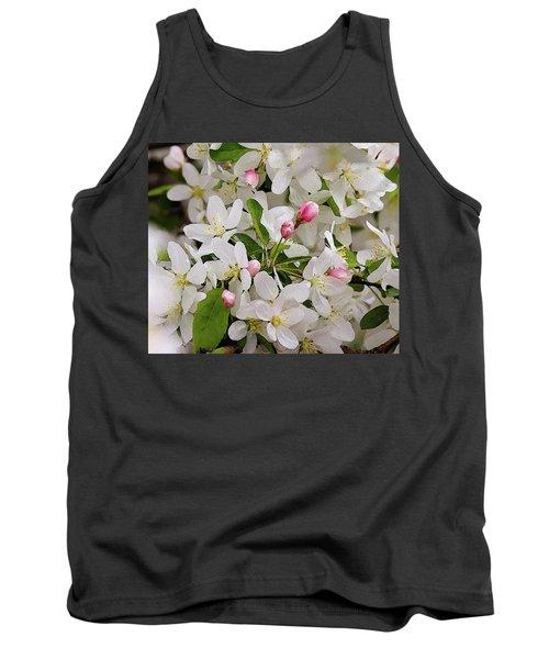 Crabapple Blossoms 5 Tank Top