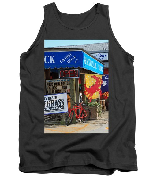 Crabby Hour 4-7 Tank Top by Suzanne Gaff