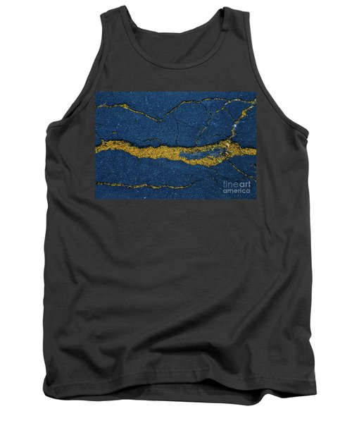 Cracked #6 Tank Top