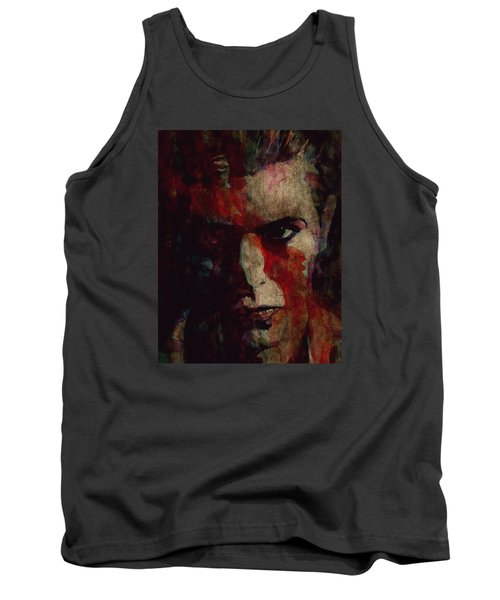 Cracked Actor Tank Top by Paul Lovering