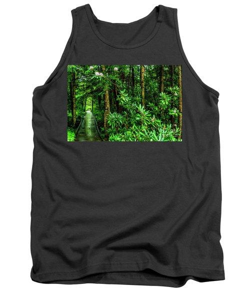 Cranberry Glades Boardwalk Tank Top