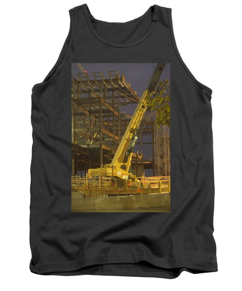 Craning And Working Tank Top