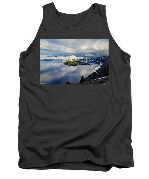 Crater Lake Storm Tank Top