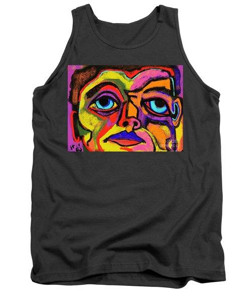 Crayon Bob Tank Top