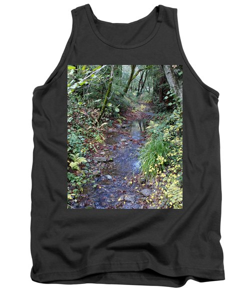 Creek On Mt Tamalpais 2 Tank Top