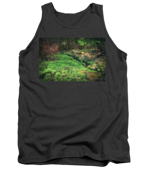 Creek - Spring At Retzer Nature Center Tank Top by Jennifer Rondinelli Reilly - Fine Art Photography