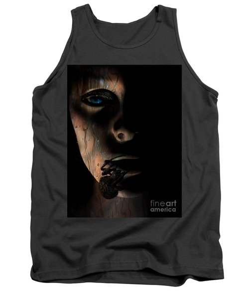 Tank Top featuring the photograph Creepy by Trena Mara