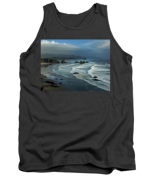 Crescent Beach And Surf Tank Top