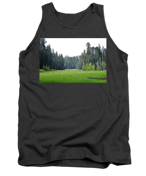 Tank Top featuring the photograph Crescent Meadow by Kyle Hanson