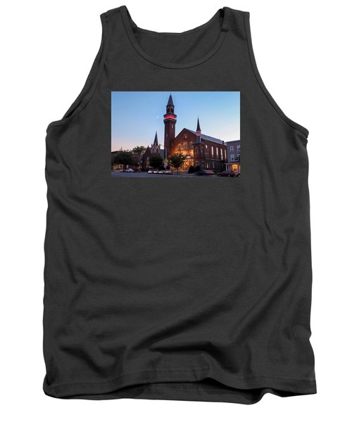 Crescent Moon Old Town Hall Tank Top