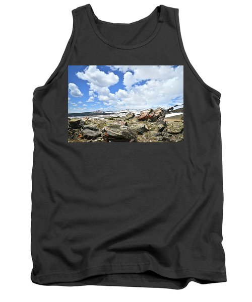 Crest Of Big Horn Pass In Wyoming Tank Top