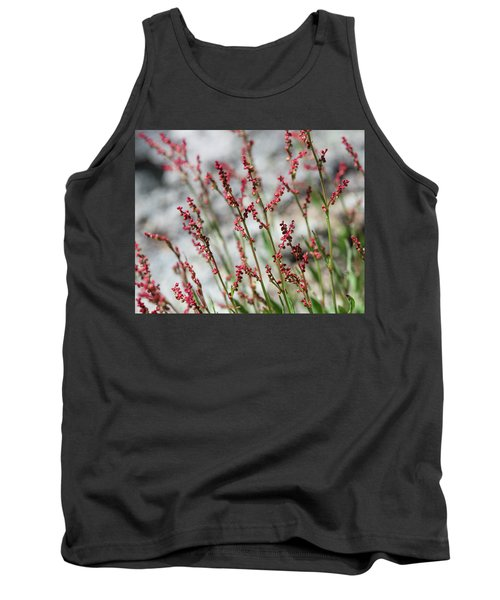 Crimson Field Tank Top