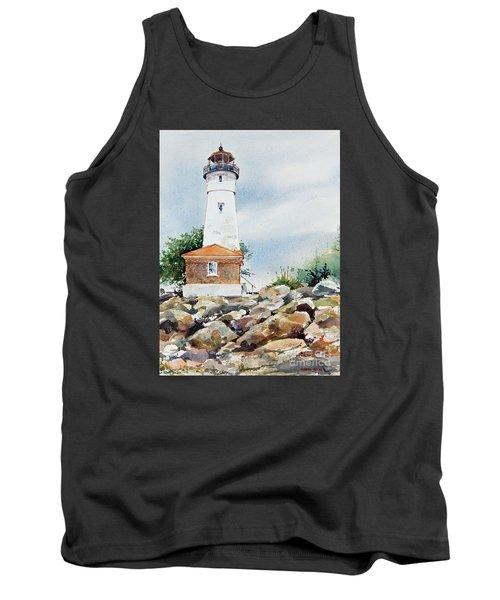 Crisp Lighthouse Tank Top