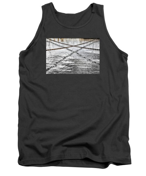 Tank Top featuring the photograph Criss-crossed by Edgar Laureano