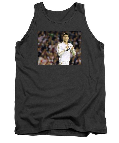 Cristiano Ronaldo 4 Tank Top by Rafa Rivas
