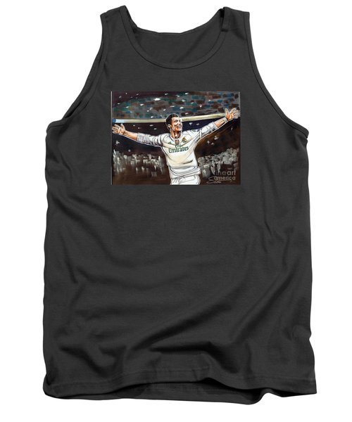 Cristiano Ronaldo Of Real Madrid Tank Top by Dave Olsen