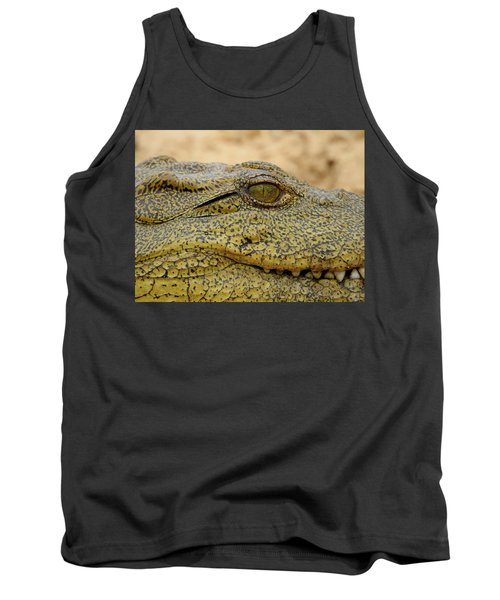 Tank Top featuring the photograph Croc by Betty-Anne McDonald