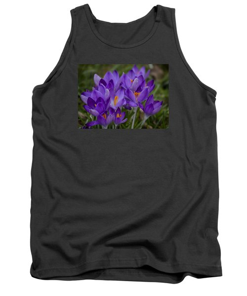 Crocus Cluster Tank Top by Shirley Mitchell
