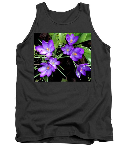 Crocus First To Bloom Tank Top