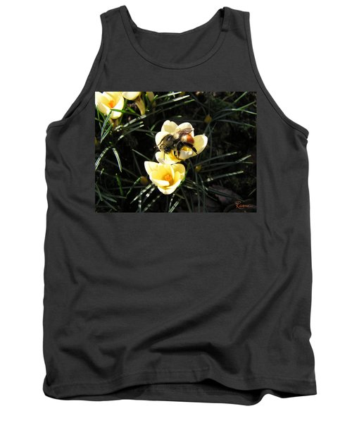 Crocus Gold Tank Top