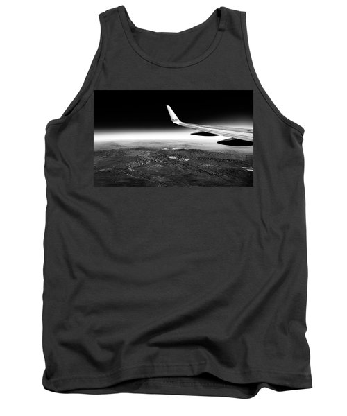 Cross Country Via Outer Space Tank Top