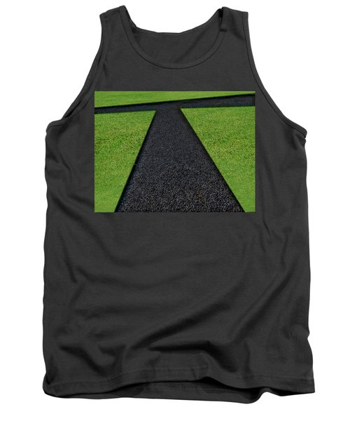 Tank Top featuring the photograph Cross Roads by Paul Wear