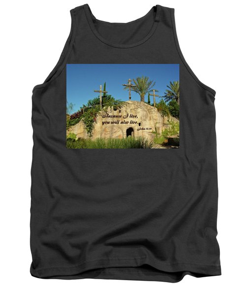 Crosses And Resurrection Tank Top