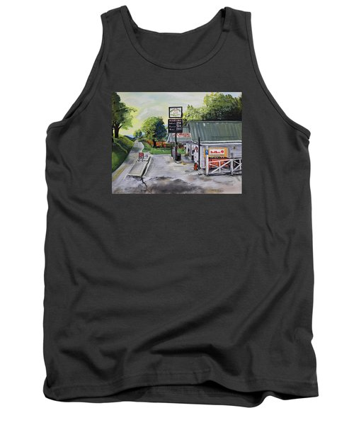 Crossroads Grocery - Elijay, Ga - Old Gas And Grocery Store Tank Top