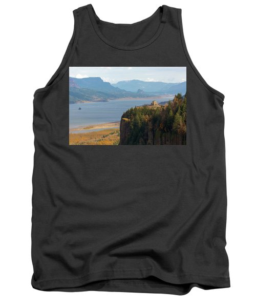 Crown Point On Columbia River Gorge Tank Top