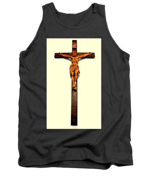 Crucifix Tank Top