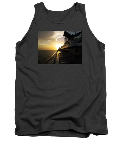 Cruisin' At Sunset Tank Top
